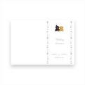 bear 招待状04     A5 2つ折