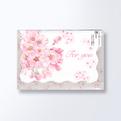 桜 ダイカットグリーティングカードCGC562