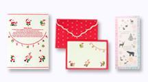 クリスマス便箋・封筒・一筆箋