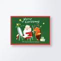 クリスマスカードCGX748
