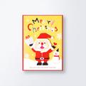 クリスマスカードCGX749
