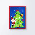 クリスマスカードCGX751