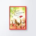 クリスマスカードCGX757