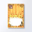 ハロウイン ハガキサイズ2つ折カード・席札CGATW300