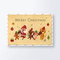 クリスマスカードCGX1198