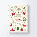 クリスマスカードCGX1205