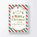 クリスマスカードCGX1209