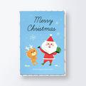 クリスマスカードCGX1210